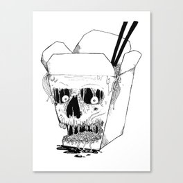 Monster Food: Takeout Canvas Print