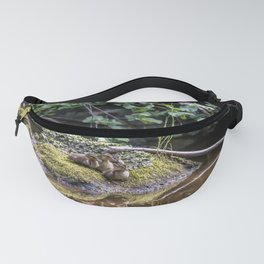 Eight Mallard ducklings Fanny Pack