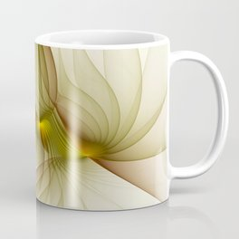 Precious Metal, Abstract Fractal Art Coffee Mug