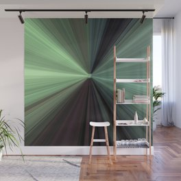 Shades of Green Color Explosion Wall Mural