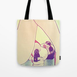 VIDA Tote Bag - a rainbow by VIDA