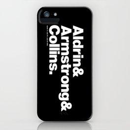 Apollo 11 Surnames iPhone Case