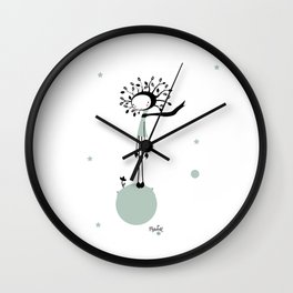 NenatreeFlower Wall Clock
