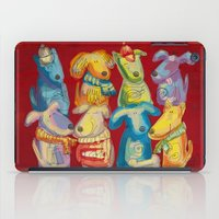 dogs iPad Cases featuring Dogs by Catru