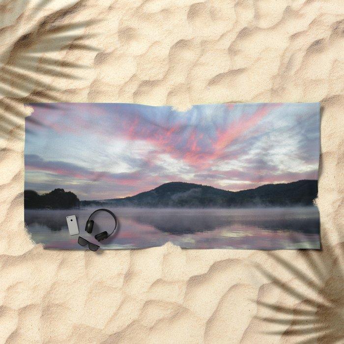 Silent Witness at Sunrise Beach Towel