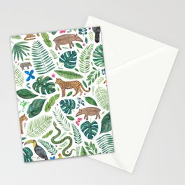 Jungle/Tropical Pattern Stationery Cards