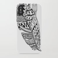 writer iPhone & iPod Cases featuring Writer Love by Vermont Greetings