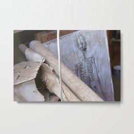 208 Bones Metal Print