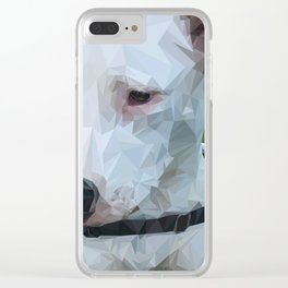Rocky Dog Clear iPhone Case