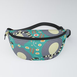 Little bears and flowers Fanny Pack