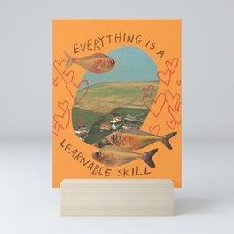 learnable skill Mini Art Print