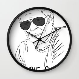 The Life Aquatic - Klaus Wall Clock