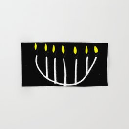 menorah,Hanukkah,jewish,jew,judaism,Festival ofLights,Dedication,jerusalem,lampstand,Temple Hand & Bath Towel