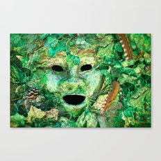 MASKED Canvas Print