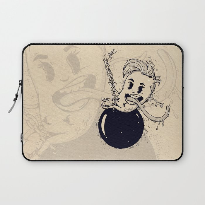 Wrecking Ball Laptop Sleeve