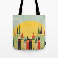 rushmore Tote Bags featuring Rushmore by Kayla Cole