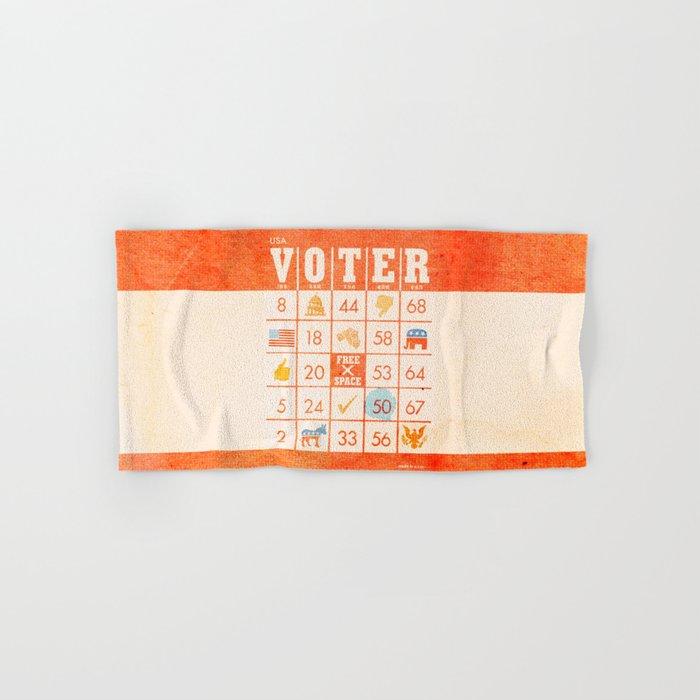 The Bingo Vote Hand & Bath Towel