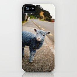 Blue? Sheep? iPhone Case