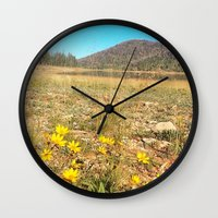 navajo Wall Clocks featuring Navajo by Nicole Roberts
