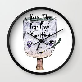 The Fear Wall Clock