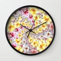 bali Wall Clocks featuring bali twist0 by gasponce