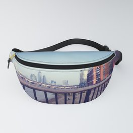 Vintage london skyline Fanny Pack