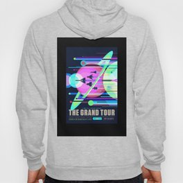 Grand Tour - NASA Space Travel Poster (Alternative) Hoody
