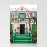 monet Stationery Cards featuring Monet House by Rachael Nicole