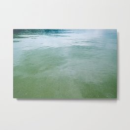 green 102 Metal Print