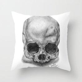 Shadow Skull Throw Pillow