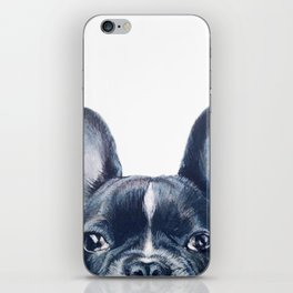 French Bull dog Dog illustration original painting print iPhone Skin