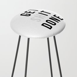 Get Sh(it) Done // Get Shit Done Counter Stool