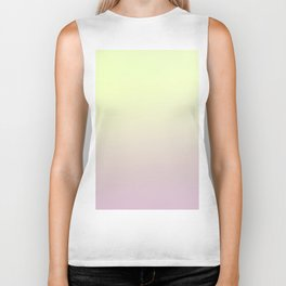 FRESH START - Minimal Plain Soft Mood Color Blend Prints Biker Tank