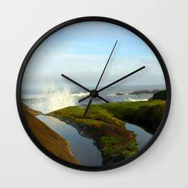 Good Morning Yachats Oregon! Wall Clock
