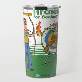 ARCHERY FOR BEGINNERS Travel Mug