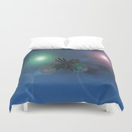 Bugs in outer space.... Duvet Cover