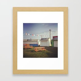 Chincoteague Fairgrounds Framed Art Print