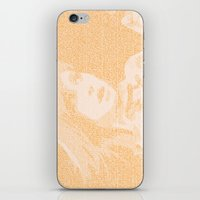 hayley williams iPhone & iPod Skins featuring Hayley Williams Lyric Portrait by Emily Becker