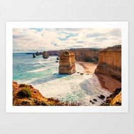 Great Ocean Road Twelve Apostles Fine Art Print  • Travel Photography • Wall Art Art Print