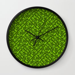 Control Your Game - Tradewinds Lime Wall Clock