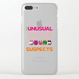 The Unusual Suspects Clear iPhone Case