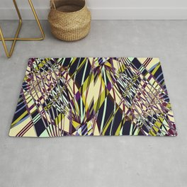 SWEEPING LINE PATTERN I-E2 Rug