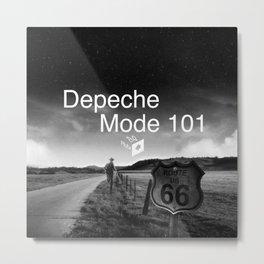 Depeche 101 Mute Promo Metal Print