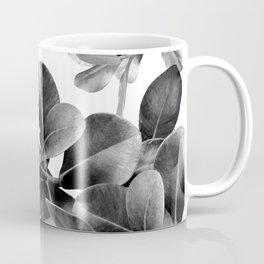 Ficus Leaves Dream #2 #bw #decor #art #society6 Coffee Mug