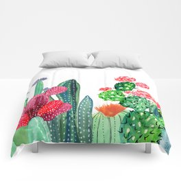 A Prickly Bunch 4 Comforters