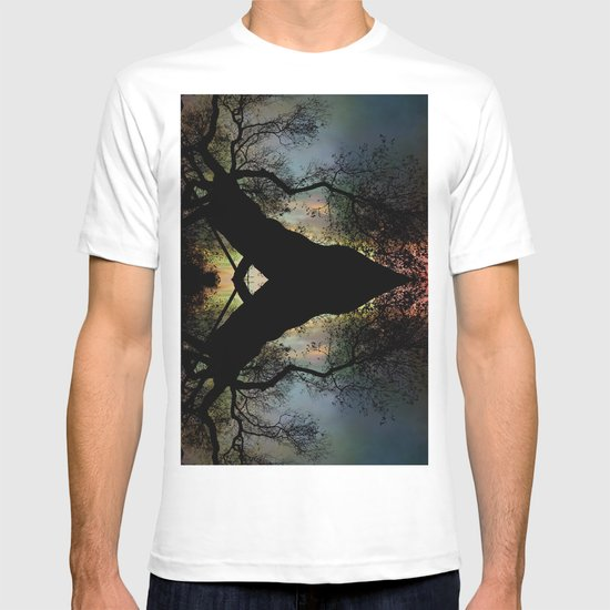 Night Fall by The Tree T-shirt