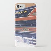 ford iPhone & iPod Cases featuring Ford by czossi