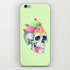 brain freeze iPhone & iPod Skin