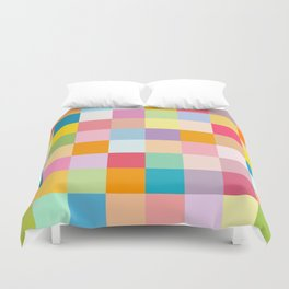 Candy colors Duvet Cover