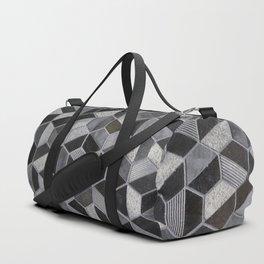 Dark Honeycomb Duffle Bag